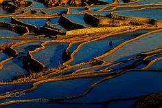 Blue terraces by Ching2016 #Landscapes #Landscapephotography #Nature #Travel #photography #pictureoftheday #photooftheday #photooftheweek #trending #trendingnow #picoftheday #picoftheweek