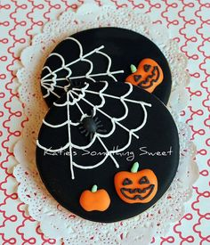 ❥Halloween | Pumpkin Cookies