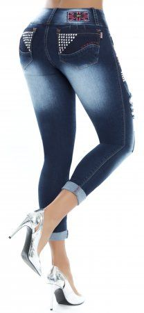 Jeans levanta cola LUJURIA 78788 Azul