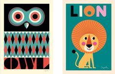 Super leuke posters van zweedse illustrator Ingela P Arrhenius