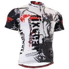 Fixgear Mens Bicycle Jersey Top Black Xxxl -- Check out this great product. 69f8acdbd