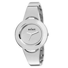 Elegante Reloj de Pulsera plateado Axcent of Scandinavia.  http://www.tutunca.es/reloj-axcent-plata-select