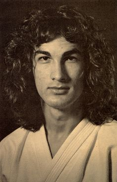 Steven Seagal as a young Aikido student in Japan (1970s)