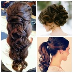 wedding hair...  Redken hair. Formal Hair Styles.