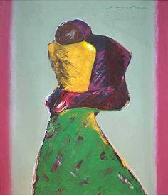 """Fritz William SCHOLDER """"Standing Figures"""""""