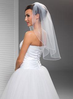svatební závoj 70 cm