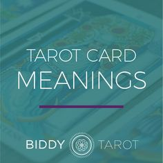 Discover the meanings of the 78 #Tarot cards