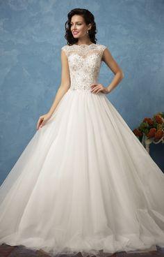 Featured Dress: Amelia Sposa wedding dress