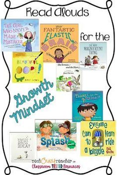 Read Alouds for the Growth Mindset