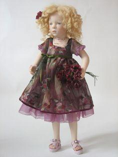 Sylvia Natterer KINDERGARDEN collection doll, 2007