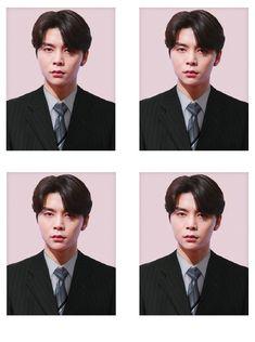 Pass Photo, Id Photo, Nct 127 Johnny, Jung Jaehyun, Kpop, Johnny Was, Fandom, Mug Shots, Taeyong