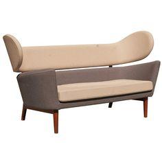 """Finn Juhl """"Baker"""" Mid Century Style Sofa"""