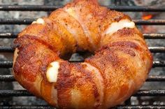 Bacon-wrapped Pineapple Mozzarella Rings (a.k.a. Bacon Donuts) Recipe on Food52 recipe on Food52