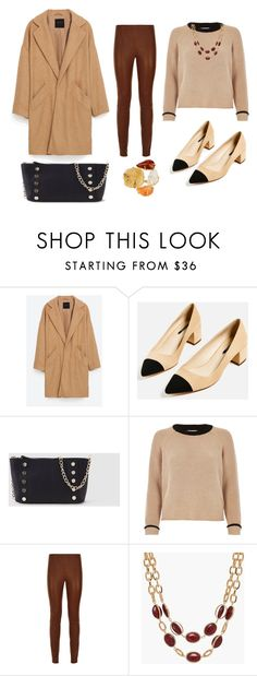 """LOOK DEL DIA"" by aliciagorostiza on Polyvore featuring moda, Piel Leather, River Island, Talbots y Saachi"