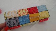 Sempre Arteira (by Erica Arteira): Porta Óculos em Cartonagem - Garfield