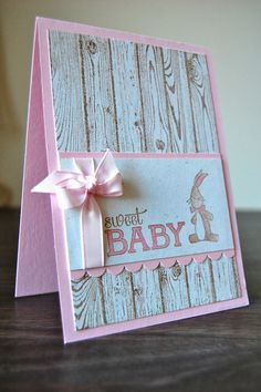 Julie Kettlewell - Stampin Up UK Independent Demonstrator - Order products 24/7: Baby Cards
