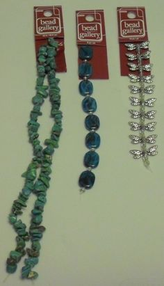 BEAD GALLERY BEADS LOT OF 3 LOVELY BEAD STRANDS NEW LOT # 3 #BeadGallery