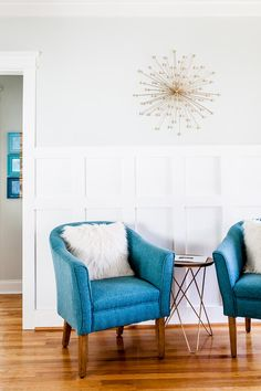 Teal chairs <3
