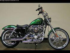 Harley Davidson News – Harley Davidson Bike Pics Harley Davidson Custom Bike, Harley Davidson Sportster 1200, Hd Sportster, Bagger Motorcycle, Motorcycle Style, Motorcycle Garage, Custom Cycles, Custom Bikes, Custom Cars