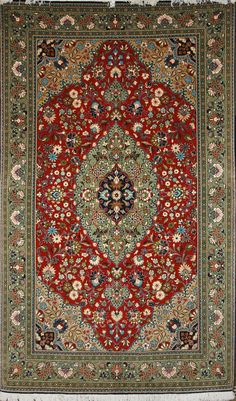 Handmade Qum Rug (Ref: 360) by Little-Persia. Wool and Silk. From Iran.