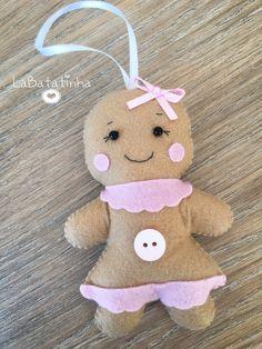 Biscoito Gingerbread feltro