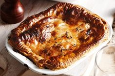 This old-fashioned favourite shows that you don't need to go all out to create satisfying family dinners. Steak and Kidney Pie Harry Potter Cookbook, Harry Potter Food, Harry Potter Recipes, Cookbook Recipes, Pie Recipes, Appetizer Recipes, Recipe Sites, Steak Recipes, Drink Recipes