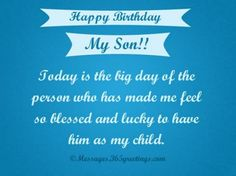 Happy Birthday Son Poem Happy Birthday