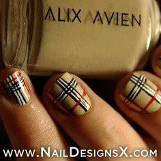 plaid+nail+art+-+Nail+Designs+&+Nail+Art