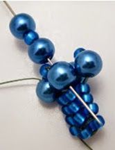 MyAmari: Herringbone Pearl Rope Bead Pattern- step by step w/ good pix ~ Seed Bead Tutorials