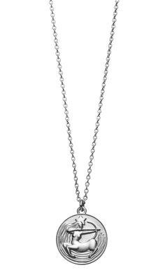 Silver Sagittarius Necklace