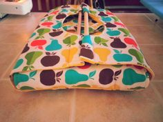 Insulated Apple and Pear Casserole Carrier by NurseswithNotions, $30.00