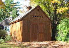 Telluride Sheds: Garden Tool Shed with Loft | Designs & Plans