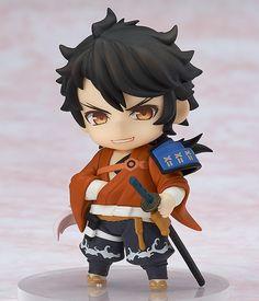 Touken Ranbu - Online - Mutsunokami Yoshiyuki - Nendoroid Petit - Nendoroid Petit: Touken Ranbu -Online- 1st Squad (Orange Rouge)