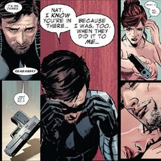 James Buchanan Barnes  Natasha Romanoff ( comic books)
