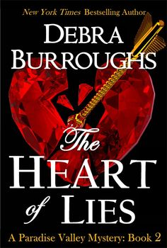 From NY Times bestselling author Debra Burroughs, the Paradise Valley Mystery series continues. The Heart of Lies again brings together sassy P.I. Emily Parker, hunky police detective Colin, and her close circle of friends for another mystery to solve...finding sometimes online dating can be murder. http://www.amazon.com/Mystery-Romantic-Paradise-Valley-Series-ebook/dp/B0095BV5FO/ref=pd_sim_kstore_5?ie=UTF8&refRID=1TX8XGZM4YSVCACDJ9QB