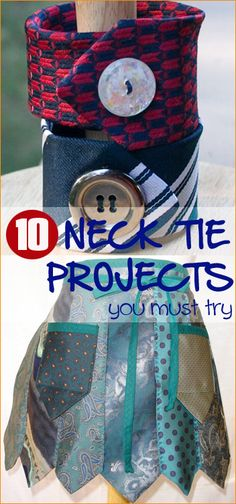 10 Must Try Neck Tie Projects.