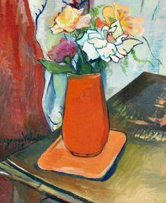 Suzanne Valadon || Bouquet of Flowers