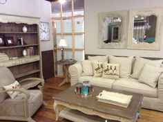Σαλονι Chateau Collection στο Woodhouse French Chateau, Solid Pine, Couch, France, Interiors, Furniture, Collection, Home Decor, Settee