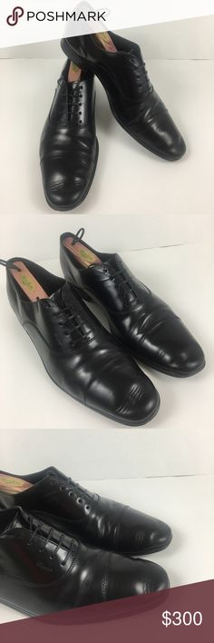 Salvatore Ferragamo Men's Cap Toe Shoes Size 12 D Salvatore Ferragamo Cap Toe Oxfords Pre-owned. In Excellent Condition. Shoe Trees Not Included Size 12 D Medium Retails for over $700 - [ ] Five Eyelet Lace Up - [ ] Serrated Cap-Toe - [ ] Stacked Heel - [ ] Calfskin Leather Upper - [ ] Leather Lining and Sole - [ ] Stacked Heel Salvatore Ferragamo Shoes Oxfords & Derbys