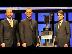 VIDEO (Nov. 30, 2012): Jeff Gordon, driver of the No. 24 Drive to End Hunger Chevrolet, received the NASCAR NMPA Myers Brothers Award during Thursday's luncheon in Las Vegas. Gordon says he will be putting this trophy in his office.