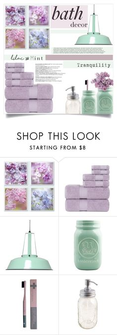"""Lilac & Mint"" by tawnee-tnt ❤ liked on Polyvore featuring interior, interiors, interior design, home, home decor, interior decorating, Dot & Bo, Ernest Supplies, Balmain and colorchallenge"