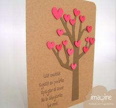 tarjeta amor aguas