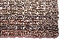 No Beginning Chain Bricks Afghan - Afghans Crocheted My Patterns - - Mama's Stitchery Projects