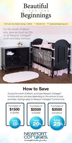 Receive Up To 25% OFF Newport Cottage Furniture All March Long!