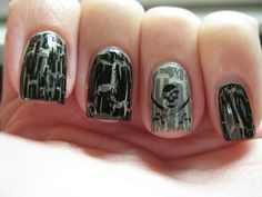 Pirates of the Caribbean nails!