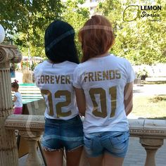 Any number Best Friends Couple T-shirts Friends