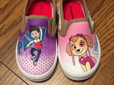 Paw Patrol Painted Toddler Shoes - CLOTHING