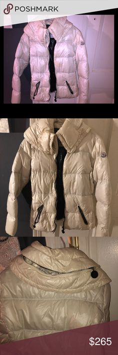 c0d29598cc4 Moncler Women s Jacket For Sale 100% Authentic Sz1 Off White Color Moncler  Women s Jacket Moderately