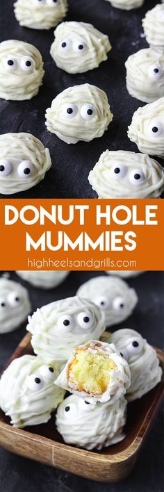 Donut Hole Mummies