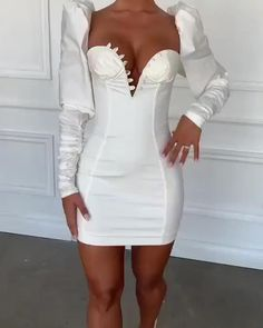 Sexy Summer Dresses, Sexy Dresses, Cute Dresses, Casual Dresses, Work Dresses, Summer Outfits, Classy Dress, Classy Outfits, Stylish Outfits